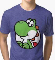 Yoshi Hello Tri-blend T-Shirt