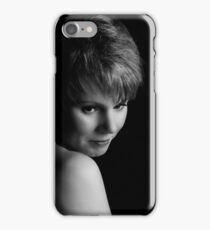 The red haired girl iPhone Case/Skin