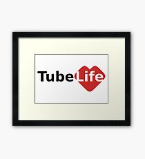 Tube Life Framed Print