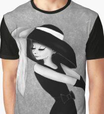 How do I look? Schwarz-Weiß Graphic T-Shirt