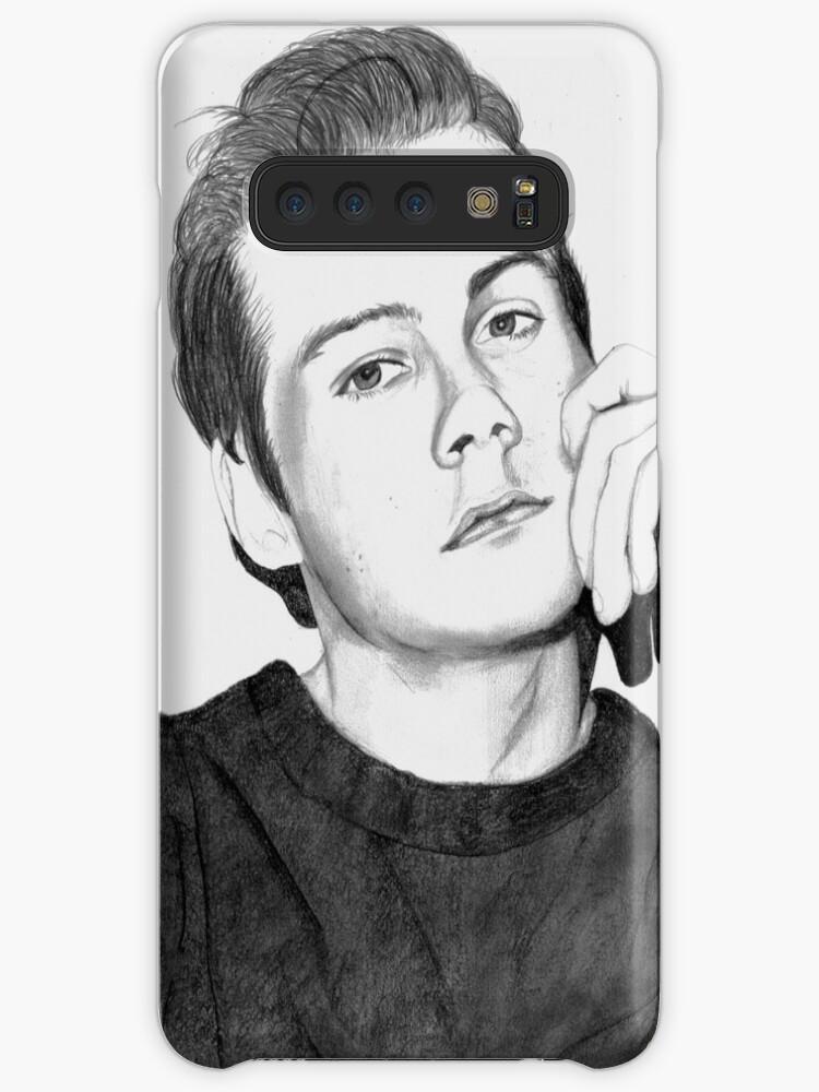 Fundavinilo Para Samsung Galaxy Dibujo Realista De Dylan Obrien De Britany Lachance
