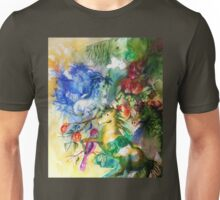 Abstract Horses Unisex T-Shirt