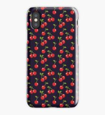 Cherry berries iPhone Case