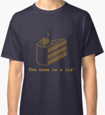 The cake is a lie! (fanart) Classic T-Shirt