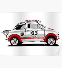 Fiat Abarth 595 Poster