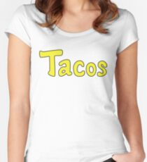 Tacos! Women's Fitted Scoop T-Shirt