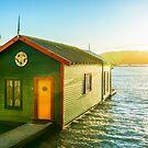 Boathouse Sunrise by SeeOneSoul