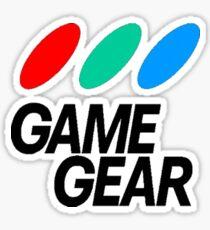 Game Gear Logo Sticker