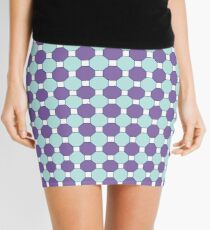 Purple & Orange Tessellation Tiles Mini Skirt