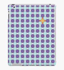 Purple & Orange Tessellation Tiles iPad Case/Skin