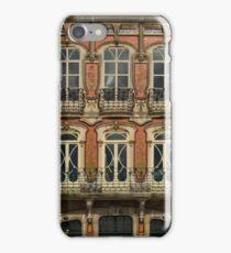 Art Nouveau facade Portugal Europe iPhone Case/Skin