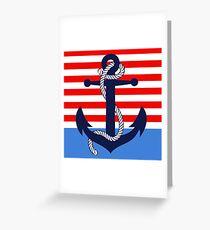 Ahoy! (ocean dipped) Greeting Card