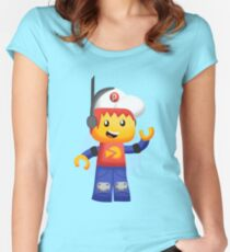 Pepper Roni Women's Fitted Scoop T-Shirt