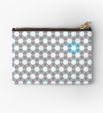 Tiling Tessellation In Green, Blue & Pink Studio Pouch