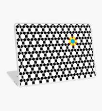Black & White Tessellation Pattern Laptop Skin