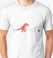 Descent of Chicken (White) T-Shirt