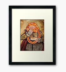 Bombur- Bigger image Framed Print