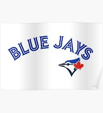 Toronto Blue Jays Wordmark with logo Poster
