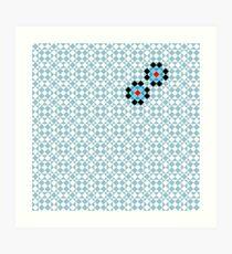 Math Tessellation Pattern Art Print