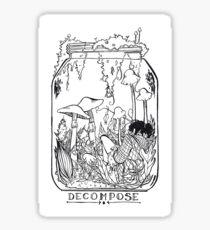 Decompose Sticker
