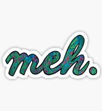 meh.  Sticker