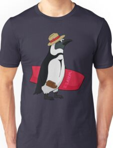 Surfing bird Unisex T-Shirt