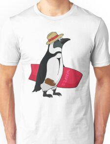 Surfing bird Unisex T-Shirt