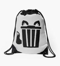 Pelz Trash Icon Rucksackbeutel