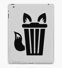 Furry Trash Icon iPad Case/Skin