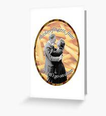 Jumpman Chicken Wings, Fries Greeting Card