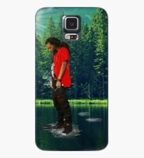 you can walk on water don't look down Case/Skin for Samsung Galaxy