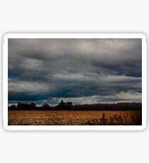 Stormy Countryside Sticker