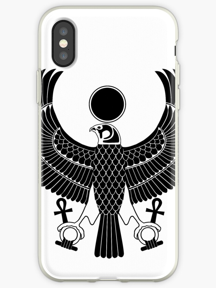 Egyptian God Horus As Royal Falcon Iphone Cases Covers By