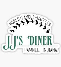 JJ's Diner - Parks und Erholung Sticker