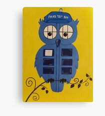 WHO OWL Canvas Print