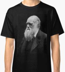 Darwin portrait Classic T-Shirt