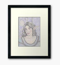 Elf Maiden Framed Print