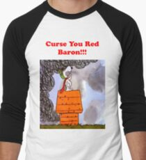 Curse you Red Baron! Men's Baseball ¾ T-Shirt