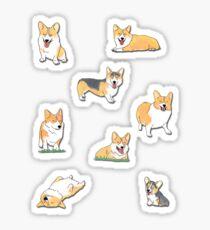 Corgi's Sticker