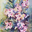 Floral Rhythm by ksgfineart