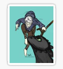 Jack and the Dragon Sticker