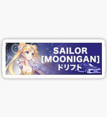 Sailor Moonigan V2 Sticker