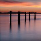 sunset at the point by Jean Poulton