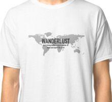 Travel - Wanderlust Definition Classic T-Shirt