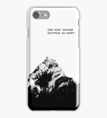 One Must Imagine Sisyphus as Happy iPhone Case/Skin