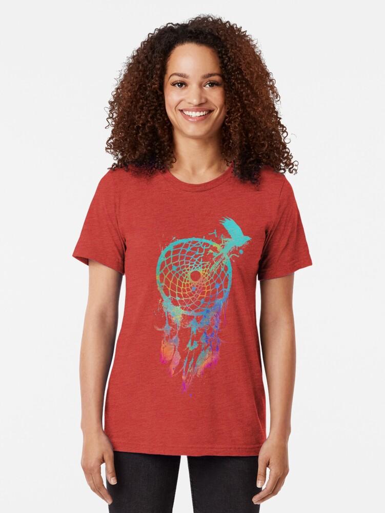 Vista alternativa de Camiseta de tejido mixto Dream Escape