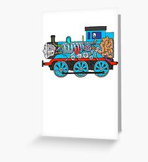 Toot Toot Greeting Card