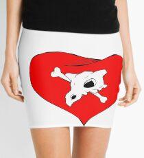 cubone loves mommy Mini Skirt