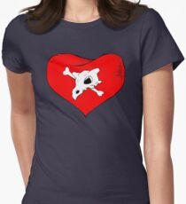 cubone loves mommy Women's Fitted T-Shirt