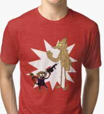 Rocket Rigby and Mordegroot Tri-blend T-Shirt